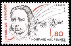 France : Hommage aux femmes : Louise Michel